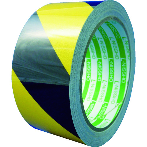 日東エルマテ 粗面反射テープ 75mmx10m 黄/黒 [SHT-75YB] SHT75YB            販売単位:1 送料無料