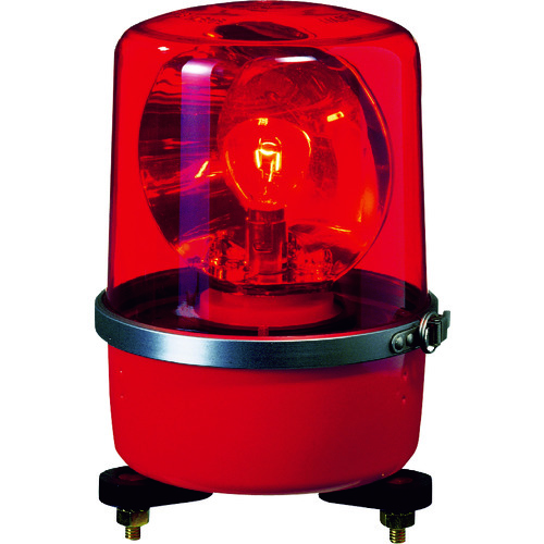 パトライト SKP-A型 中型回転灯 Φ138 色:赤 [SKP-104A-R] SKP104AR 販売単位:1 送料無料