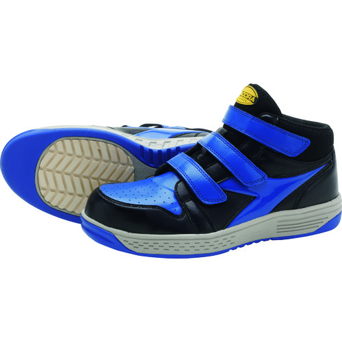 ディアドラ 安全作業靴 スターリング ブラック/ブルー 24.5cm [SR24245] SR24245            販売単位:1 送料無料