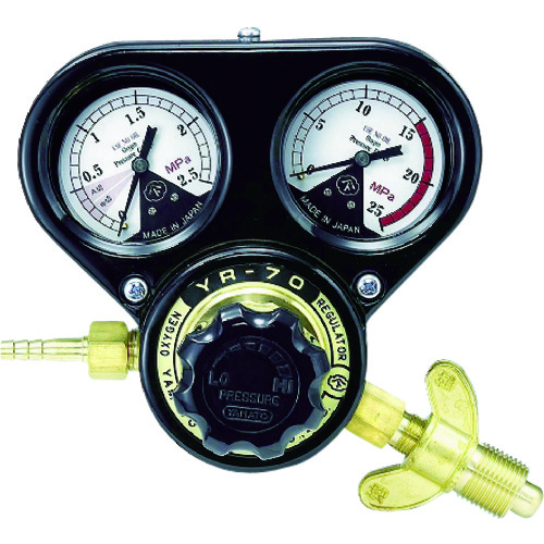 ヤマト 酸素用圧力調整器 SSボーイ(関西式) [SSB-OXW] SSBOXW 販売単位:1 送料無料