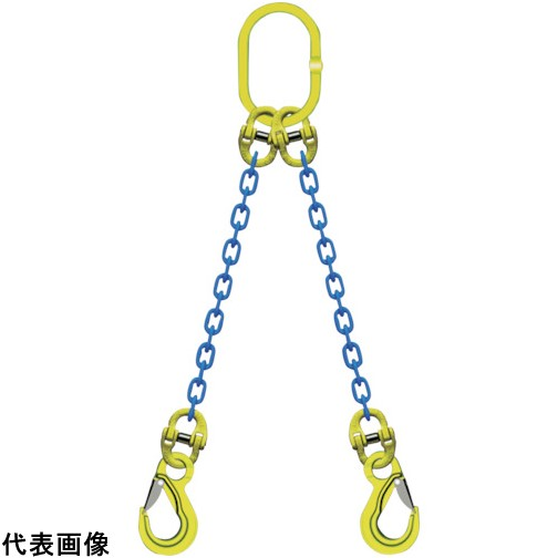 マーテック 2本吊りチェンスリングセット L=1.5m [TA2-EKN-10] TA2EKN10 販売単位:1 送料無料