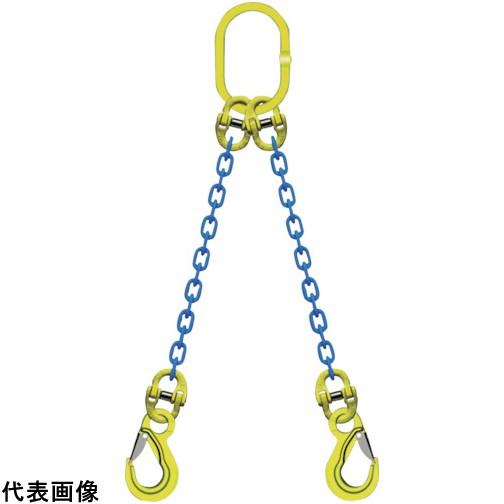 マーテック 2本吊りチェンスリングセット L=1.5m [TA2-EKN-8] TA2EKN8 販売単位:1 送料無料