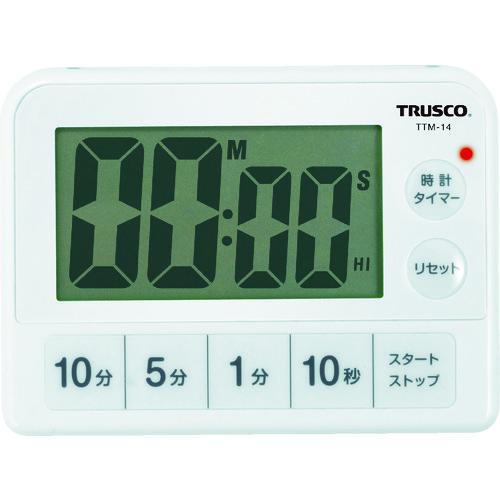 トラスコ中山 株 測定 計測用品 工業用計測機器 ブランド激安セール会場 ついに入荷 ストップウォッチ タイマー 防滴タイマー 販売単位:1 TRUSCO TTM-14 3100 TTM14 TRUSCO