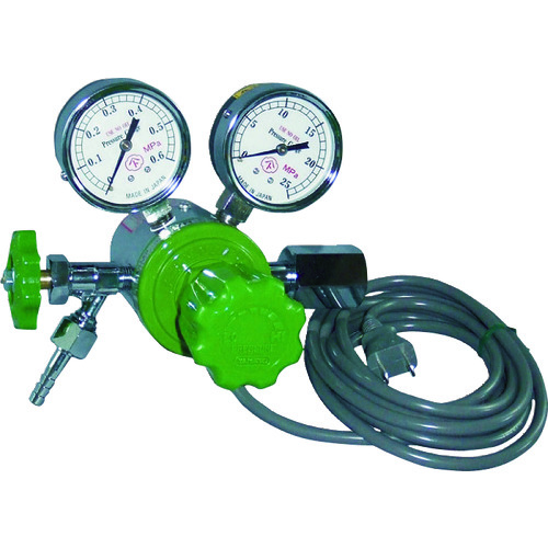 ヤマト ヒーター付圧力調整器 YR-507V-2 [YR-507V-2-11-CO2] YR507V211CO2 販売単位:1 送料無料