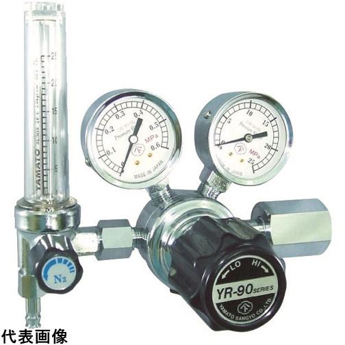 ヤマト 汎用小型圧力調整器 YR-90F(流量計付) [YR-90F-R-13FS-25-HE-2205] YR90FR13FS25HE2205 販売単位:1 送料無料
