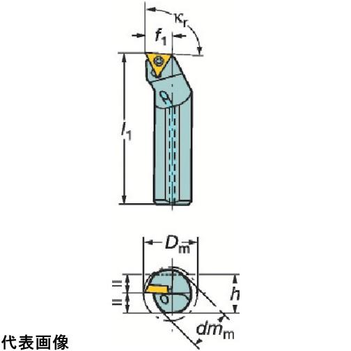 人気カラーの サンドビック コロターン107  [E16R-STFCR 販売単位:1  ポジチップ用超硬ボーリングバイト 11-RB1] E16RSTFCR11RB1 送料無料:ルーペスタジオ-DIY・工具