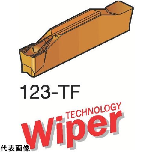 【在庫一掃】 1125] サンドビック [N123K1-0600-0004-TF 送料無料:ルーペスタジオ 突切り・溝入れチップ N123K106000004TF 1125 10個セット コロカット1  -DIY・工具
