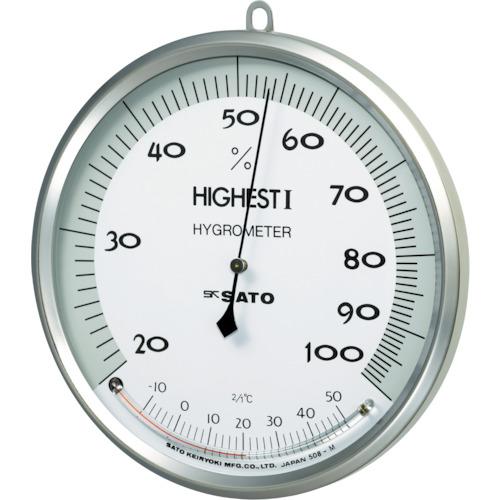 佐藤 温湿度計 ハイエスト1型 [7540-00] 754000 販売単位:1 送料無料