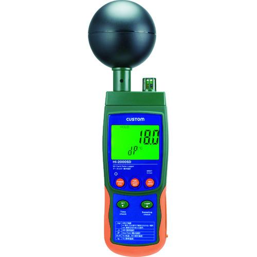 カスタム データロガー熱中症計 [HI-2000SD] HI2000SD 販売単位:1 送料無料