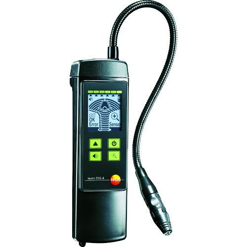 最新最全の テストー 冷媒ガス検知器 [TESTO316-4SET2]  販売単位:1 送料無料:ルーペスタジオ  TESTO3164SET2-DIY・工具