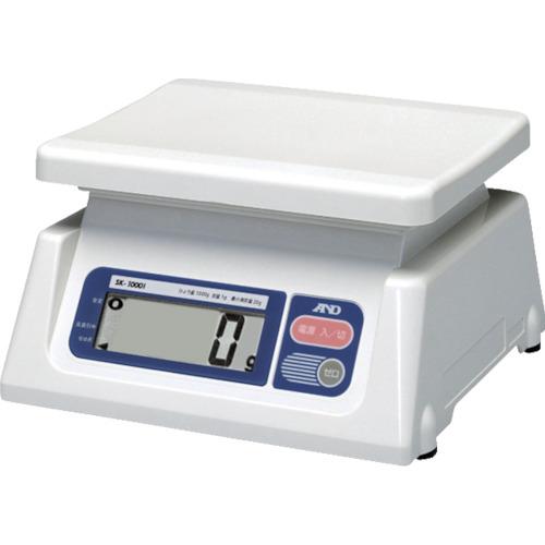 A&D デジタルはかり(検定付・3区) [SK1000I-A3] SK1000IA3 販売単位:1 送料無料