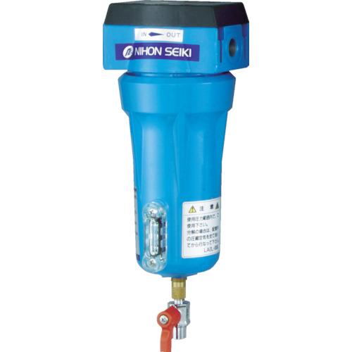 日本精器 高性能エアフィルタ15A3ミクロン(ドレンコック付) [NI-CN2-15A-DL-DV] NICN215ADLDV 販売単位:1 送料無料