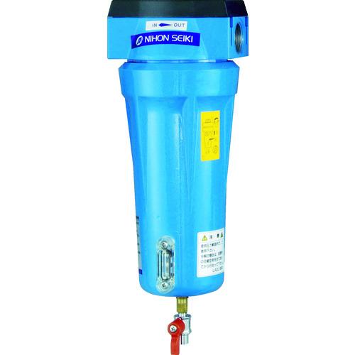 日本精器 高性能エアフィルタ15A1ミクロン(ドレンコック付) [NI-TN2-15A-DL-DV] NITN215ADLDV 販売単位:1 送料無料