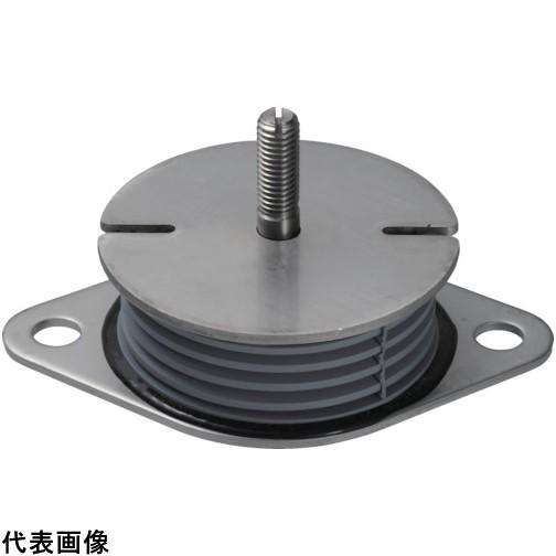 Taica 防振材 インシュレーター プレート(ゴム被覆)SUS 25~35kg [SF-30-SUS] SF30SUS 販売単位:1 送料無料