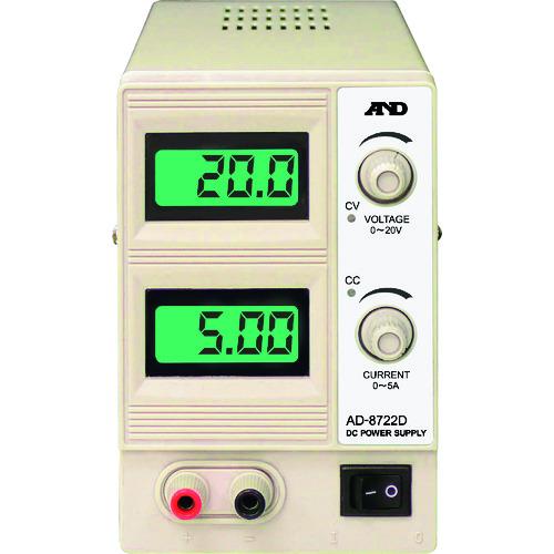 A&D 直流安定化電源 [AD8722D] AD8722D 販売単位:1 送料無料