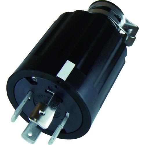 アメリカン電機 引掛形 ゴムプラグ 接地3P60A250V [4622R] 4622R 販売単位:1 送料無料