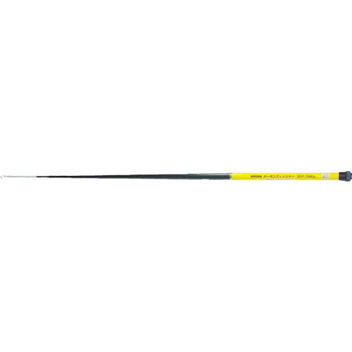 デンサン カーボンフィッシャー10m・ライト付 [DCF-10000L] DCF10000L 販売単位:1 送料無料