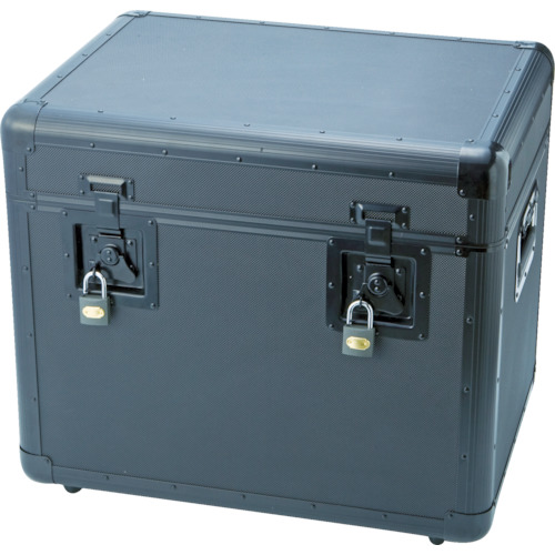 TRUSCO トラスコ中山 万能アルミ保管箱 黒 543X410X457 [TAC-540BK] TAC540BK 販売単位:1 送料無料