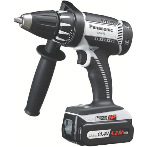 Panasonic ドリルドライバ14.4V 4.2Ah (グレー) [EZ7442LS2S-H] EZ7442LS2SH 販売単位:1 送料無料