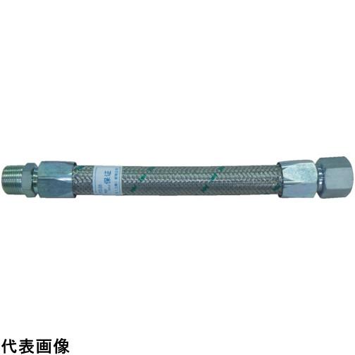 トーフレ メタルタッチ無溶接型フレキ 継手鉄 オスXオス 25AX300L [TF-1625-300-MM] TF1625300MM 販売単位:1 送料無料