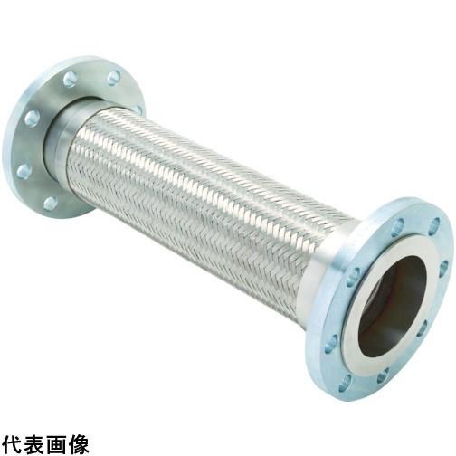 ゼンシン フレキシブルメタルホース(フランジ型) 呼び径80A(3インチ) [Z-4000-80-300] Z400080300 販売単位:1 送料無料