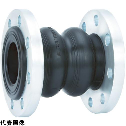 ゼンシン ゴム製防振継手(フランジ型) 呼び径50A(2インチ) [ZRJ-T-50] ZRJT50 販売単位:1 送料無料
