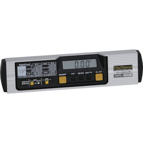 エビスダイヤモンド 磁石付デジタルレベル 260mm [ED-26DGLMN] ED26DGLMN 販売単位:1 送料無料
