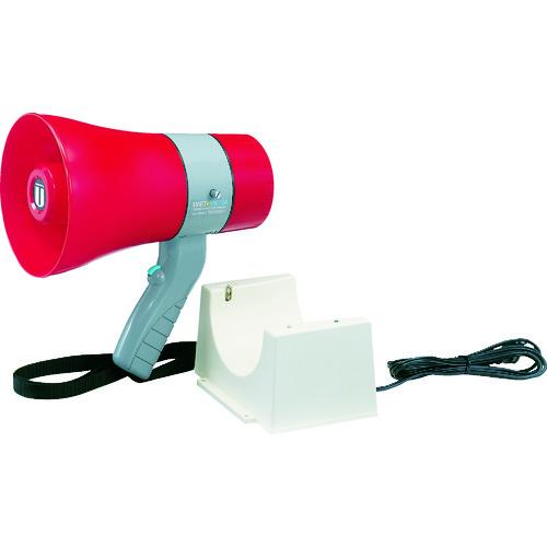 ユニペックス 充電式防滴形メガホン 6W サイレン付 [TR-215CS] TR215CS 販売単位:1 送料無料