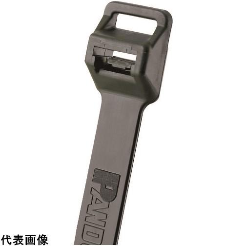 パンドウイット ナイロン結束バンド 耐候性黒(100本入)幅12.7 厚さ2.2 [PLT10EH-C0] PLT10EHC0 販売単位:1 送料無料