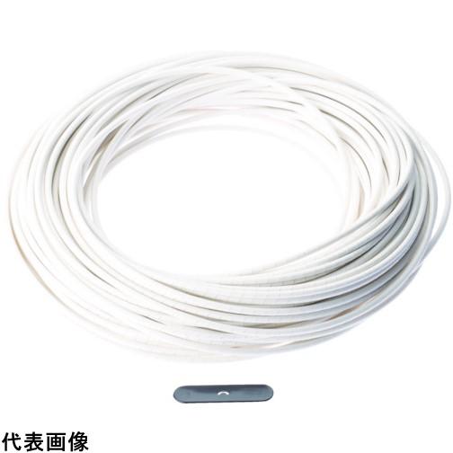 パンドウイット スパイラルラッピング 難燃性ポリエチレン(UL94V-0) 白 [T50FR-CY] T50FRCY 販売単位:1 送料無料