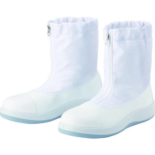 ミドリ安全 トウガード付 先芯入りクリーン静電靴 ハーフフード 23.5CM [SCR1200FCAP-HH-23.5] SCR1200FCAPHH23.5 販売単位:1 送料無料