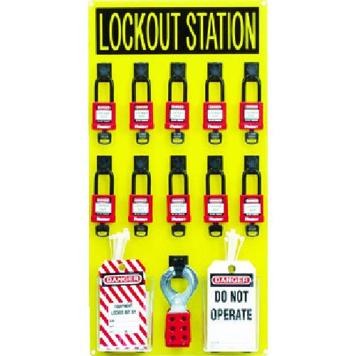 パンドウイット ロックアウトステーションキット 10人用 [PSL-10SWCA] PSL10SWCA 販売単位:1 送料無料