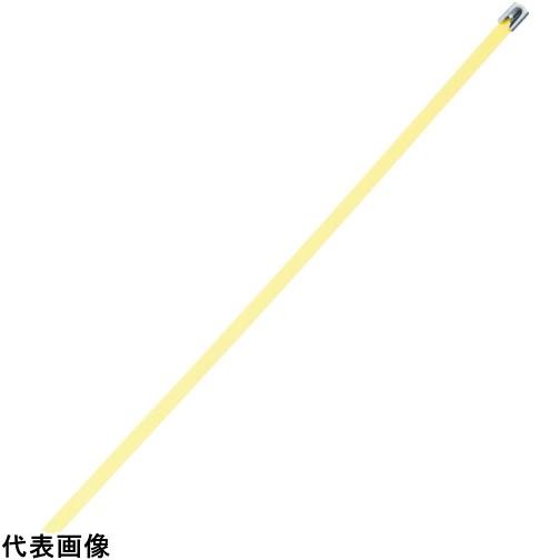 パンドウイット MLTタイプ フルコーティングステンレススチールバンド SUS316 黄 幅8.1mm 長さ363mm 50本入り MLTFC4H-LP316YL [MLTFC4H-LP316YL] MLTFC4HLP316YL 販売単位:1 送料無料