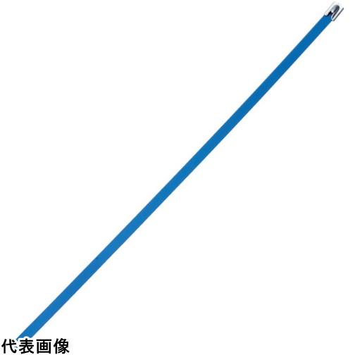 パンドウイット MLTタイプ フルコーティングステンレススチールバンド SUS316 青 幅8.1mm 長さ521mm 50本入り MLTFC6H-LP316BU [MLTFC6H-LP316BU] MLTFC6HLP316BU 販売単位:1 送料無料