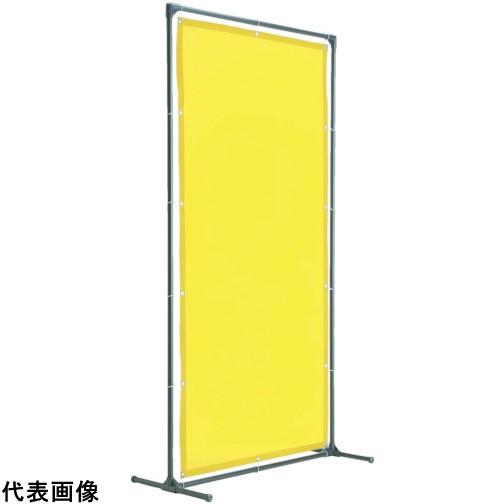 TRUSCO トラスコ中山 溶接遮光フェンス 1515型単体 固定足 黄 [YF1515K-Y] YF1515KY 販売単位:1 送料無料