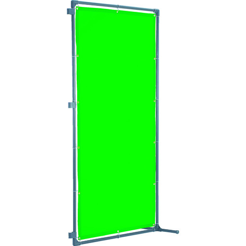 TRUSCO トラスコ中山 溶接遮光フェンス 2020型接続固定足 緑 [YFASK-GN] YFASKGN 販売単位:1 送料無料