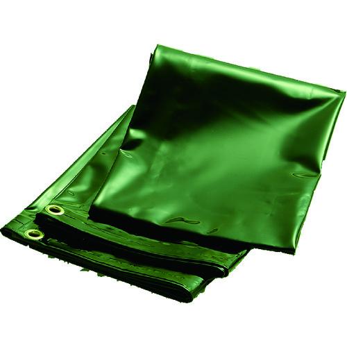 TRUSCO トラスコ中山 溶接遮光シートのみ 0.35T×W1470×H1470 深緑 [D15-3-DG] D153DG 販売単位:1 送料無料