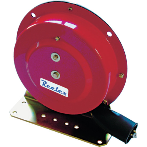 Reelex 自動巻アースリール据え置き取付タイプ50Aアースクリップ付 [ER-415] ER415 販売単位:1 送料無料