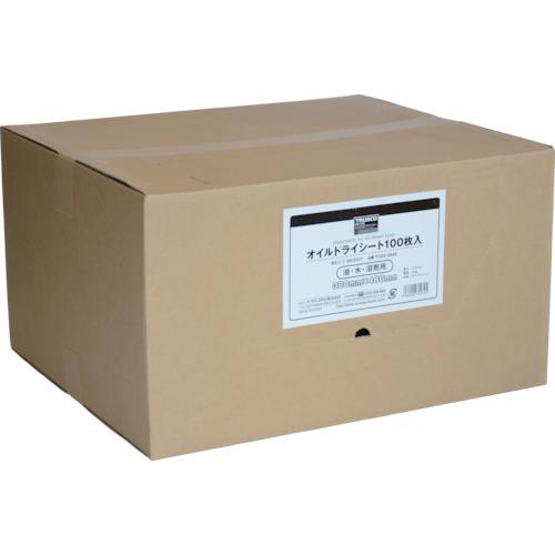 TRUSCO トラスコ中山 オイルドライシート 380×480 (100枚入) [TODS-3848] TODS3848 販売単位:1 送料無料
