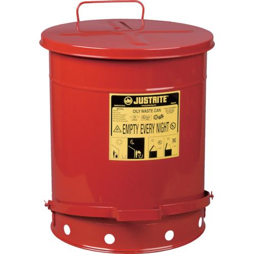 ジャストライト オイリーウエスト缶 14ガロン [J09500] J09500 販売単位:1 送料無料
