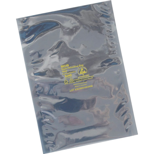 SCS 静電気シールドバッグ フラットタイプ 254X356mm (100枚入) [1001014] 1001014 販売単位:1 送料無料