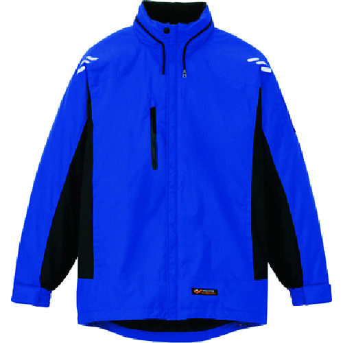 アイトス 光電子軽防寒ジャケット ブルー S [AZ-6169-006-S] AZ6169006S 販売単位:1 送料無料