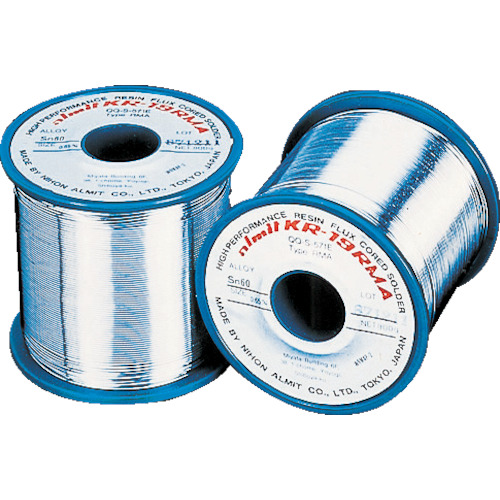アルミット 鉛フリーやに入りはんだ KR-19 RMA 1.0mm [KR19RMA-SN60-P-2-1.0MM] KR19RMASN60P21.0MM 販売単位:1 送料無料