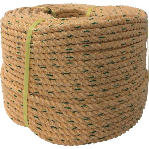 ユタカメイク ロープ KPロープ巻物 16φ×200m [K16-200] K16200 販売単位:1 送料無料