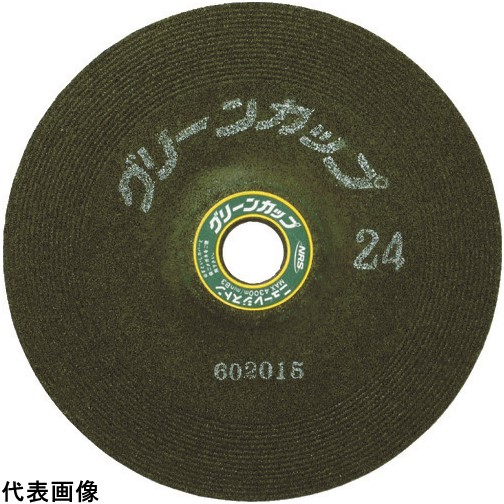 NRS グリーンカップ 125×6×22 ♯24 [GCP1256-24] GCP125624 25セット 送料無料