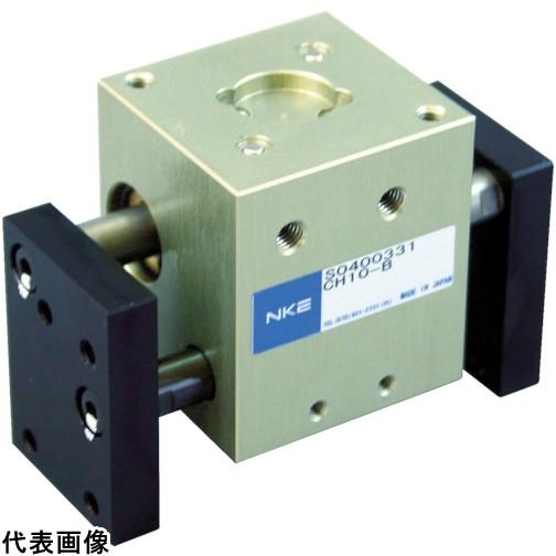 NKE エアチャック 平行角型 CH10L-B [CH10L-B] CH10LB 販売単位:1 送料無料