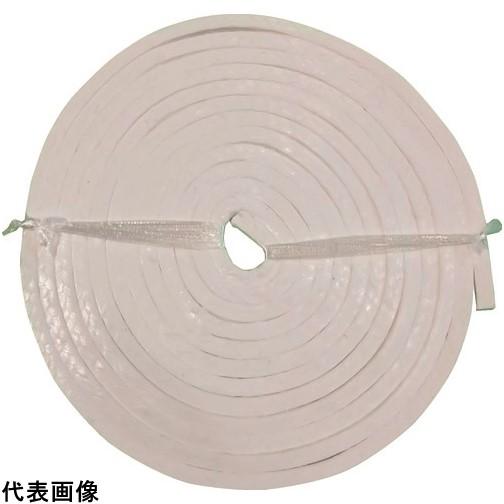 ダイコー グランドパッキン D4102 PTFE含浸PTFEファイバー 幅11.1mm [D4102-11.1] D410211.1      販売単位:1 送料無料