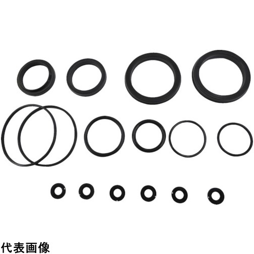 TAIYO 油圧シリンダ用メンテナンスパーツ 適合シリンダ内径:φ80 (フッ素ゴム・標準形用) [NH8/PKS3-080B] NH8PKS3080B 販売単位:1 送料無料