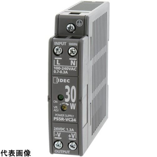 IDEC PS5R-V形スイッチングパワーサプライ(薄形DINレール取付電源) PS5RVE24 販売単位:1 送料無料