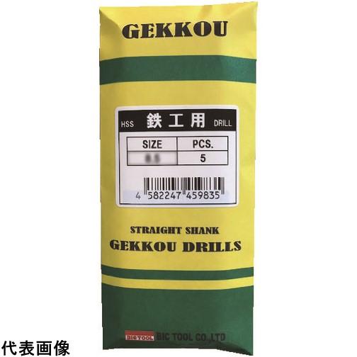 BIC TOOL 鉄工用月光ドリル 10.0mm  SGD10.0            5セット 送料無料